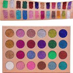 Bomb Dot Com | 24 Shade Glitter Eye Palette - Jolie Beauty