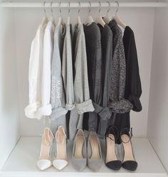 Closet Aesthetic – Grey scale – Tia McIntosh