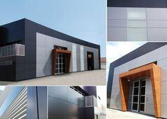 Casas on pinterest garage doors young mans bedroom and - Tipos de revestimientos exteriores ...