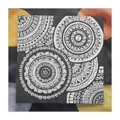 Intricate Mandala Design on paper by MettheDesigns on Etsy