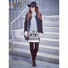 Black & White Style  Happy saturday!! http://www.theprincessinblack.com #fashionblog #lookoftheday #lookbook #outfit #itgirl #toppic #instagrampic #bestpic #streetstyle #beauty #happy #followme #havefun #instagramlikes #blogger #blog #blogmoda #glamour