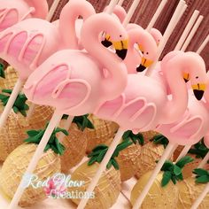 Summer brings Flamingos & Pineapples for a festive graduation party ************************************************ #Flamingo #Flamingos #FlamingoCakePops #Pineapple #PineappleCake #PineappleCakePops #Pina #PinaColada #Cake #CakePop #CakePops #Chocolate #Instagram #InstaCakePops #InstaFood #EdibleArt #RedFlourCreations #Redlands #California #Mompreneur #MoreThanABaker #PartyPlanner #DessertTable #SummerParty #Summer2017 #Luau #LuauParty #HawaiianParty #GraduationParty #Flamingle