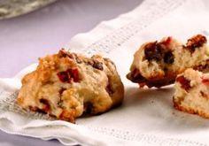 cookie fit de aveia com morango - Receitas light -Ajuda Emagrecer