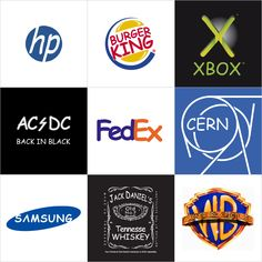World famous logos in comic sans font. Comic sans is a interesting font in terms of how people react to it. Seeing famous logos in that font makes for a interesting reaction.