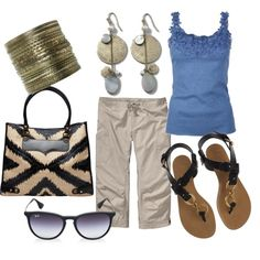 Black and Blue, created by phillc on Polyvore