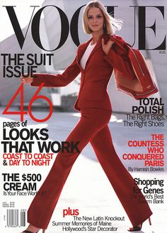 covers of vogue 2000s | Covers of Vogue USA with Carmen Kass, 958 2000 | Magazines | The FMD