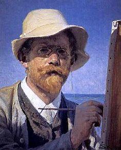 P.S. Krøyer, Selvportræt.jpg
