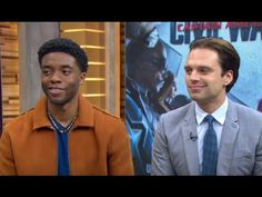 'Captain America: Civil War': Chadwick Boseman, Sebastian Stan Open Up