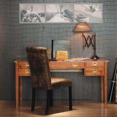 Massief houten bureau B 151 cm
