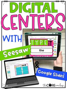 This resource provides 20 easy-to-implement word work or spelling activities for ANY LIST. Each activity is compatible with Seesaw and Google Slides.