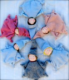 Waldorf Doll  Cashmere by TheVioletSparrow on Etsy, $34.50