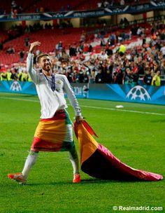 Celebración de la Décima Champions League ganada por el Real Madrid
