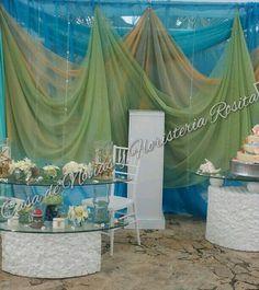 Beach wedding.   Tema playa. Aguada, Puerto Rico
