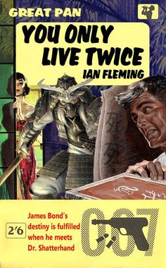 You Only Live Twice by Ian Fleming - A fan made 007 cover