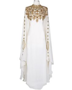 The Athena Kaftan creates a perfect, elegantlook for any occasion from fancy wedding event to a joyous Eid celebration. Athena Kaftan is a top-pick as our number one bestseller as customers repeatedly rate it with 5 stars praising its ornate sophistication. Developed with the goals of mainta