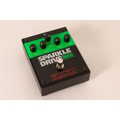 Voodoo Lab Sparkle Drive MOD Overdrive Guitar Effects Pedal Regular 888366019207