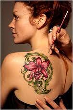 Beautiful Tattoos for women - LA Ink