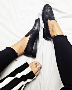 Studded loafer love - BRONX SHOES