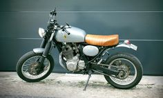 Antonio's DR650 Tracker #Suzuki