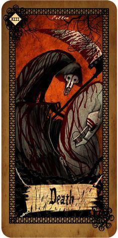 Tarot Card - Death ไพ่แห่งกาลอวสาน | Cotton's Blog