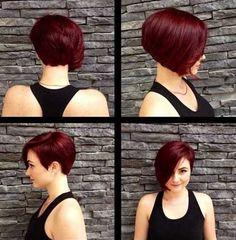 6.-Cute-Hairstyle-for-Short-Hair.jpg (500×509)