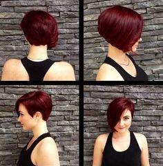 Really Cute Hairstyles for Short Hair 2016 | http://www.short-haircut.com/really-cute-hairstyles-for-short-hair-2016.html