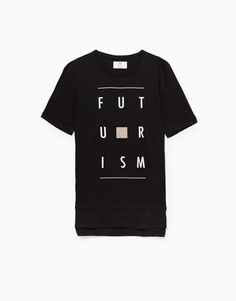 Lefties - camiseta larga print - 0-800 - 01010515-V2016