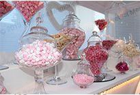 sweet cart vases pink