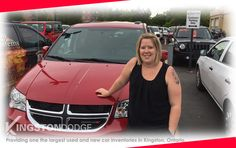 Congratulations to Amanda on your new 2016 Dodge Grand Caravan SXT Plus. I Hope that you love all the great features you get inside this great vehicle along with it's slick red exterior! I hope you get to build some great memories as your family grows!