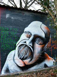 Street Art, Graffiti, Fine Art, Moderne Kunst, Malerei by Fabian Zolar