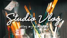 Las cosas nunca salen como las planeas 😅 ~ Studio Vlog 01   Viompa Incense, Hipster Stuff
