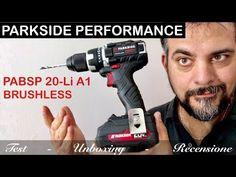 PARKSIDE PERFORMANCE prestazioni trapano avvitatore a batteria 20 V PABSP 20