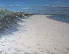 Shell Bay - Acrylic on canvas Shells, Island, Canvas, Beach, Water, House, Outdoor, Bird, Ideas