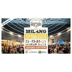 Lombardia Beer Fest 22-23-24-25 marzo Milano
