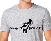 christmas Vegan gift, Vegan t shirt, vegan shirt,animal rights shirt,vegan clothing,vegan top,vegan power,vegan fashion