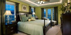 The Berkshire II -  Master Suite  at Noble's Pond