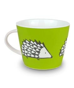 Green Hedgehog 11.8-Oz. Mug #zulily #zulilyfinds