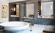 Luxury Bathroom Design Inspirations By London's Brady Williams Studio Bathroom Design Layout, Bathroom Design Inspiration, Bathroom Design Luxury, Bathroom Tile Designs, Bathroom Ideas, Asian Interior Design, Asian Design, Top Interior Designers, Black Vanity Bathroom