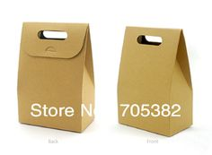 Handle paper cookie bags ,kraft paper bag,food packing gift bags,wholesale  10*6*15.5cm.(ss 6222)-in Packaging Bags from Industry & Business...
