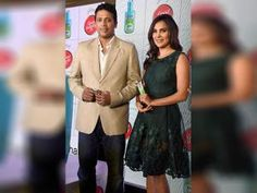Lara Dutta along with her husband tennis player Mahesh Bhupathi