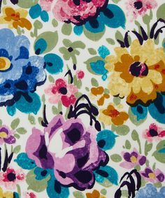 Liberty Art Fabrics Florence C Tana Lawn Cotton | Fabric | Liberty.co.uk