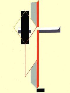 El Lissitzky Proun