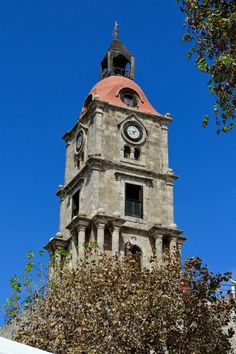 Clock tower, Rhodos