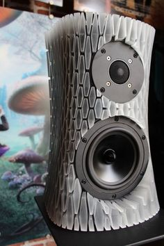 3ders.org - How to create the super cool 3D printed speakers (with lights!)   3D Printer News & 3D Printing News