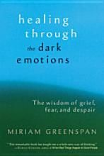 """""""Healing Through the Dark Emotions: The wisdom of grief, fear, and despair"""". A radical perspective contra the idea of battling/'overcoming' our emotions. Buddhist philosophy + Western psychology at its finest."""
