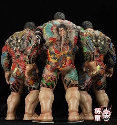 Yamaguchi, Yakuza Style Tattoo, Folklore Japonais, Carpe Koi, Culture Pop, Gangsters, Comme, Mythology, Dragons
