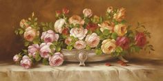 Floral Still Life (Decorative Art) Poster at AllPosters.com