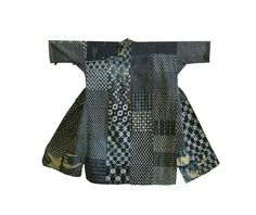 Boro work coat #Japanese #clothing #textiles