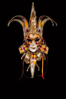 Jolly & Joker Venetian Masks Online For Sale - Original Venice Shop