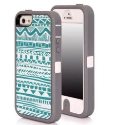 Aztec print otter box - iPhone 5s